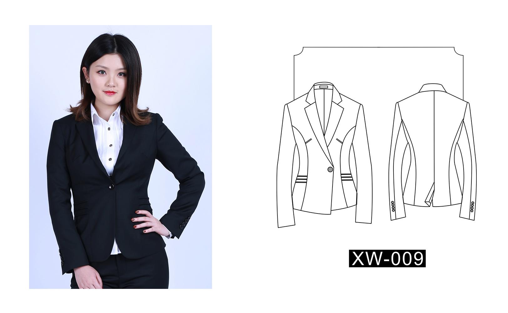 女士西装XW-009(图1)