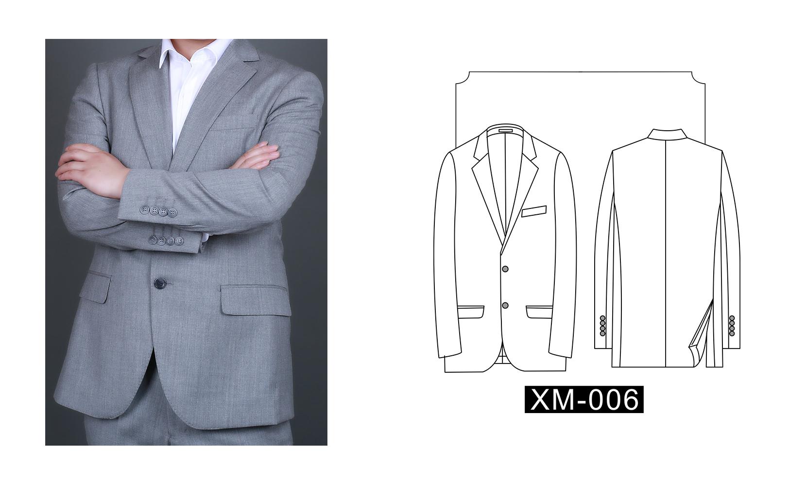 女士西装XW-006(图1)