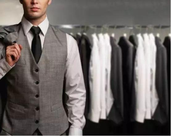如何正确对待一套高级西服的技巧